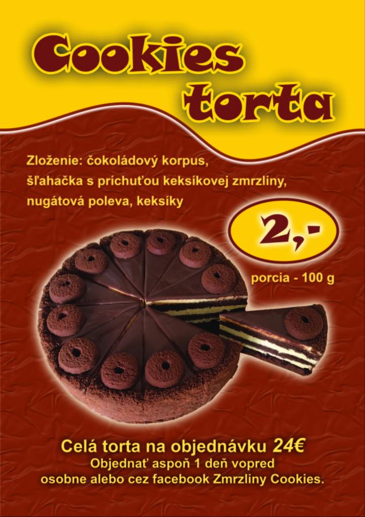 Cookies torta